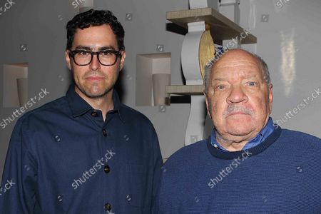 Stock Picture of Alexander Dynan (Cinematographer) and Paul Schrader