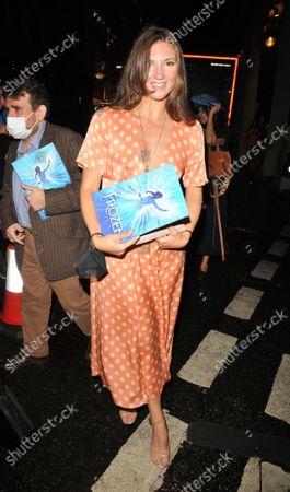 Editorial photo of 'Frozen' musical press night, Theatre Royal Drury Lane, London, UK - 08 Sep 2021