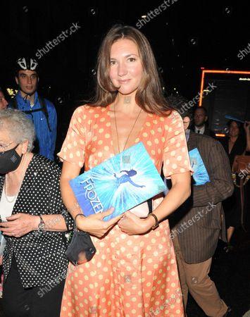 Editorial image of 'Frozen' musical press night, Theatre Royal Drury Lane, London, UK - 08 Sep 2021