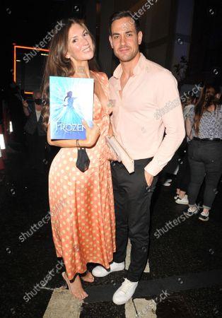 Editorial picture of 'Frozen' musical press night, Theatre Royal Drury Lane, London, UK - 08 Sep 2021
