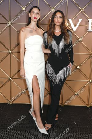 Ruby Aldridge and Lily Aldridge