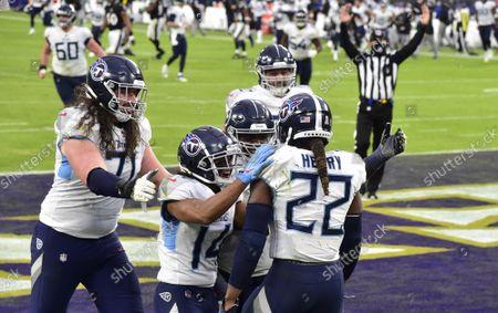 Editorial image of NFL Titans Ravens, Baltimore, Maryland, United States - 22 Nov 2020