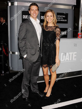 Adam Sztykiel and wife Elle
