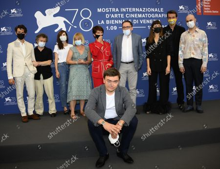 Editorial photo of Zeby Nie Bylo Sladow Photocall - 78th Venice Film Festival, Italy - 09 Sep 2021