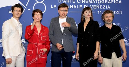 Editorial image of Zeby Nie Bylo Sladow Photocall - 78th Venice Film Festival, Italy - 09 Sep 2021