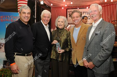 Stock Image of Matt Lasorsa, Dick Van Dyke, Sally Ann Howes, Eric Doctorow and Douglas Rae