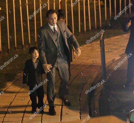 Editorial image of Nicolas Cage and family attend a Halloween Ball, Bucharest, Romania - 31 Oct 2010