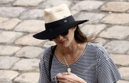 Stock Photo of French actress Marion Cotillard attends a tribute ceremony for late French actor Jean-Paul Belmondo at the Hotel des Invalides in Paris, France, Paris, 09 September 2021. Belmondo died on 06 September 2021 at the age of 88 years.