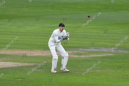 John Simpson of Middlesex during the LV= Insurance County Championship match between Sussex County Cricket Club and Middlesex County Cricket Club at the 1st Central County Ground, Hove