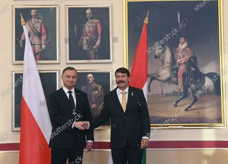 Editorial photo of Polish President Andrzej Duda visits Hungary, Budapest - 09 Sep 2021