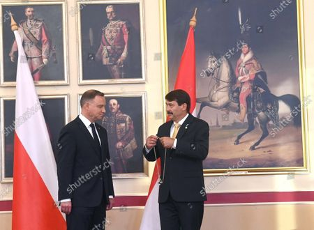 Editorial picture of Polish President Andrzej Duda visits Hungary, Budapest - 09 Sep 2021