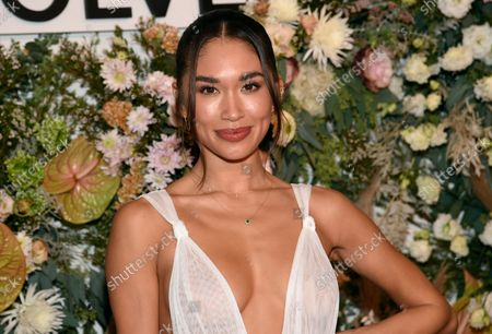 Jocelyn Chew attends the Revolve Gallery New York Fashion Week event at Hudson Yards, in New York