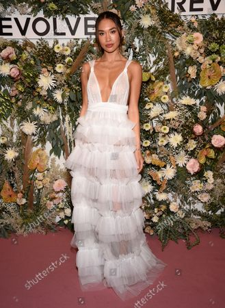 Stock Picture of Jocelyn Chew attends the Revolve Gallery New York Fashion Week event at Hudson Yards, in New York