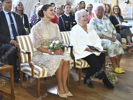 Editorial photo of Swedish Woman of the Year Award ceremony, Millesgarden, Stockholm, Sweden - 09 Sep 2021