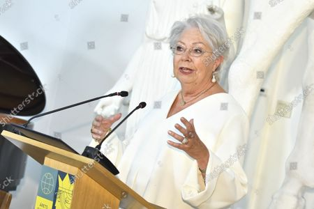 Stock Photo of Princess Christina, Mrs Magnuson, at SWEA International's Swedish Woman of the Year Award ceremony held at Millesgarden in Stockholm, Sweden, on September 09, 2021.