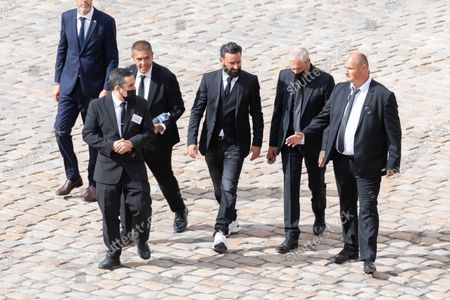 Editorial image of France national tribute ceremony for late French actor Jean-Paul Belmondo, Paris, France - 09 Sep 2021