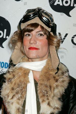 Stock Image of Gretchen Jones (Project Runway Season 8 Winner)as Amelia Earhart