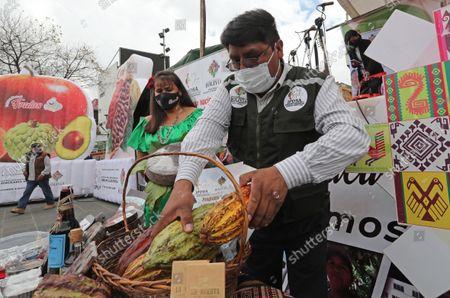 Editorial image of Amazonian trade fair in La Paz, Bolivia - 09 Sep 2021