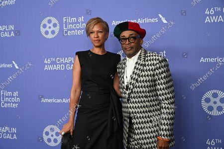 Tonya Lewis Lee and Spike Lee