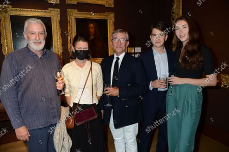 Stock Image of Jasper Conran with Lady Sarah Chatto