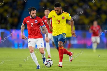 Editorial picture of Chile Wcup Soccer, Barranquilla, Colombia - 09 Sep 2021