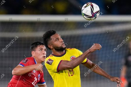 Editorial image of Chile Wcup Soccer, Barranquilla, Colombia - 09 Sep 2021