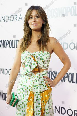 Isabel Jimenez attends the Cosmopolitan Influencer Awards at Fortuny club in Madrid.