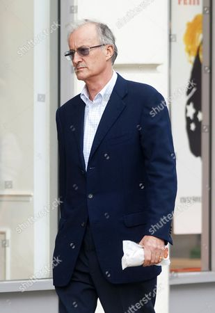 Editorial photo of Lord Brabourne out and about in Chelsea, London, Britain - 20 Oct 2010