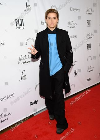 Actor Dylan Sprouse attends the Daily Front Row Fashion Media Awards at the Rainbow Room, Rockefeller Center,, in New York