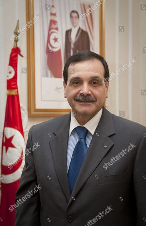 Editorial image of Tunisian Ambassador,  Hatem Atallah, London, Britain - 27 Oct 2010