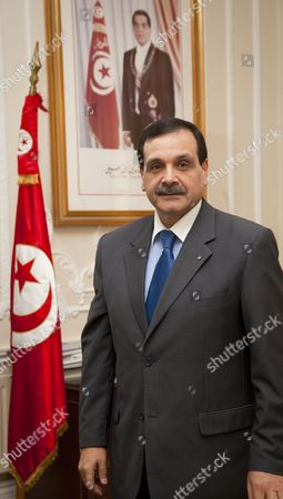 Stock Picture of Tunisian Ambassador, Hatem Atallah