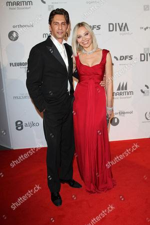 Fabrice Kerherve and Ornella Muti