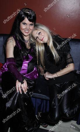 Michelle Bass and Nikki Grahame
