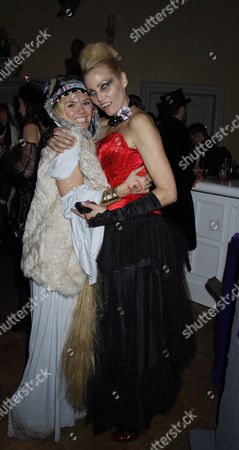Stock Picture of Kaja Wunder and Charlie Brooks