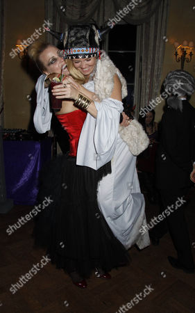 Editorial photo of 5th Annual Bloodlust Ball, Hampton Court House, London, Britain - 30 Oct 2010