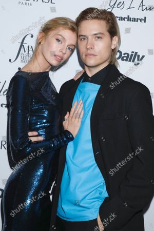 Stella Maxwell and Dylan Sprouse