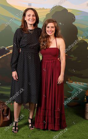 (Mrs Hall) Anna Madeley and (Helen Alderson) Rachel Shenton