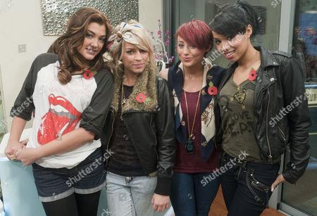 Belle Amie - Geneva Lane, Sophia Wardman, Rebecca Creighton and Esther Campbell