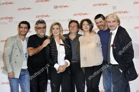 Amr Waked, Giancarlo De Cataldo, Simona Izzo, Graziano Diana, Kseniya Rappoport, Alessandro Gassman, Ricky Tognazzi