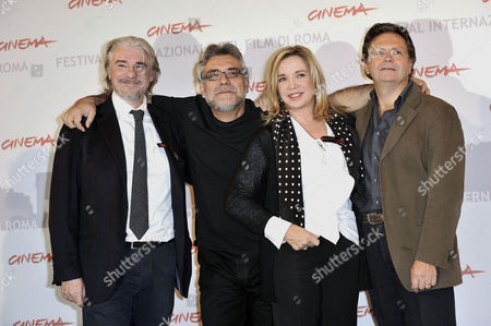 Ricky Tognazzi, Giancarlo De Cataldo, Simona Izzo, Graziano Diana