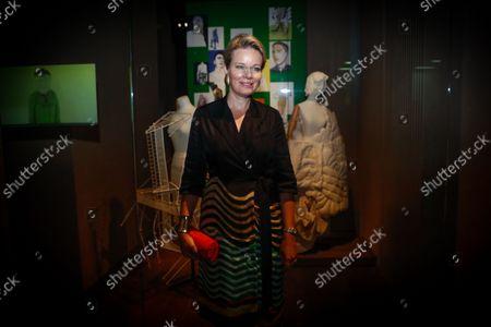 Editorial image of Queen Mathilde of Belgium visits the ModeMuseum in Antwerpen - 10 Sep 2021