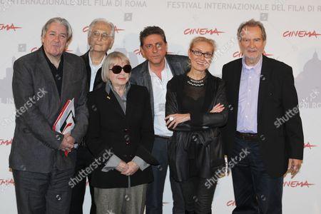 Patrick McGrath, Natalia Aspesi, Ula Grosbard, Edgar Reitz, Sergio Castellitto and Olga Sviblova