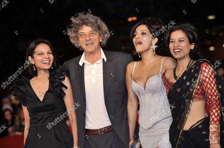 Stock Photo of Seema Rahmani, Italo Spinelli, Priyanka Bose, Tillotama Shome