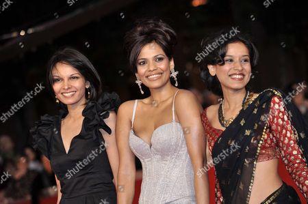 Seema Rahmani, Priyanka Bose, Tillotama Shome
