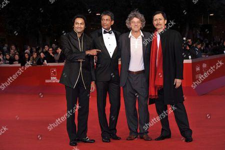 Samrat Chakrabarti, Adil Hussain, Italo Spinelli, Dibang