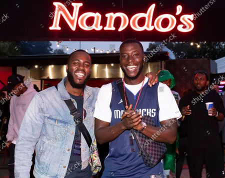 Editorial picture of Backstage with Nando's at Wireless Festival 2021, Day 3, Crystal Palace Park, London, UK - 12 Sep 2021
