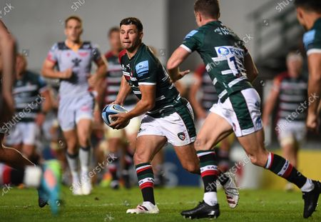 Ben Youngs of Leicester Tigers.