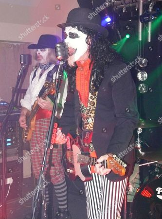 Editorial picture of Lady Winwoods Maggot play The Rydal Live Music Venue in New Milton Hampshire for their Halloween Special, Britain - 31 Oct 2010