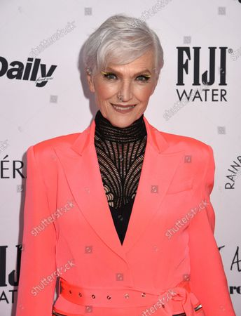 Maye Musk attends The Daily Front Row 8th Annual Fashion Media Awards, New York, USA - 9 Sep 2021