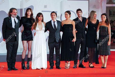 Olivier Delbosc, Charlotte Gainsboug, Audrey Dana, Yvan Attal, Suzanne Jouannet, Ben Attal, Guests